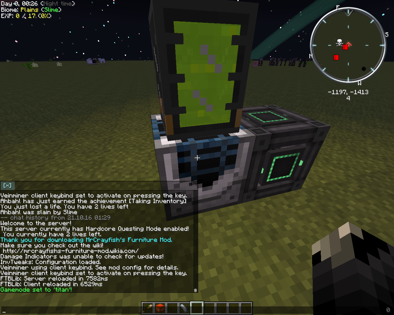 Done - [Titan] Auto-Spawner doesnt spawn animated blocks