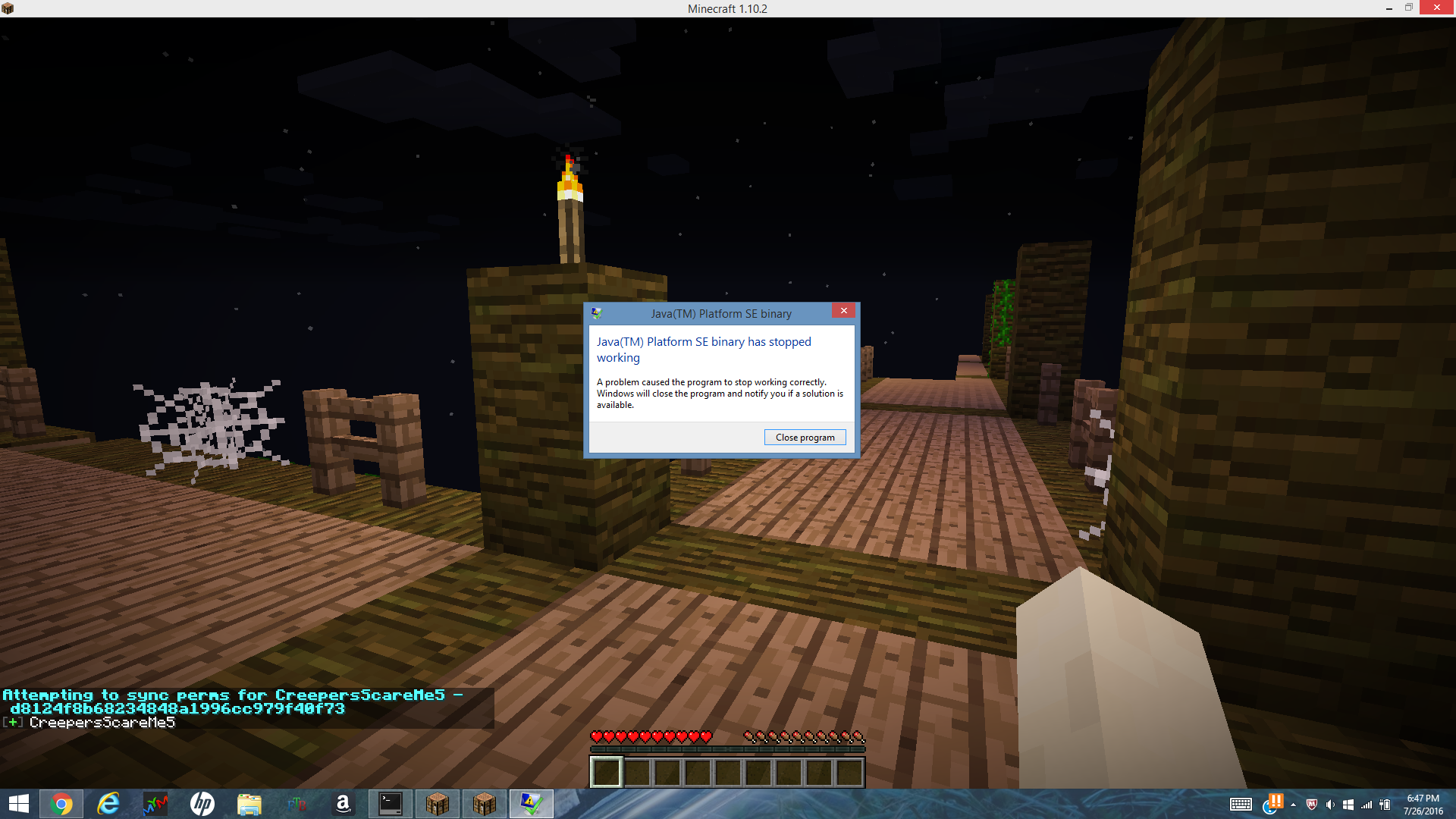 minecraft could not locate openal library